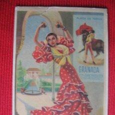 Postales: GRANADA - TRAJES ESPAÑOLES. Lote 8556788