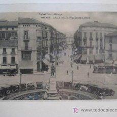 Postales: POSTAL MALAGA - CALLE DEL MARQUES DE LARIOS. Lote 8582768