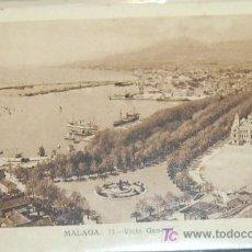 Postales: POSTAL DE MALAGA. VISTA GENERAL. Lote 8618147