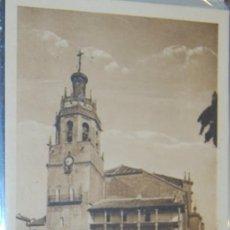 Postales: POSTAL DE MALAGA. RONDA. IGLESIA DE SANTA MARIA LA MAYOR. Lote 8618256