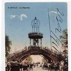 Postales: SEVILLA. LA PASARELA. ED. MANUEL BARREIRO. ESCRITA. Lote 8648609
