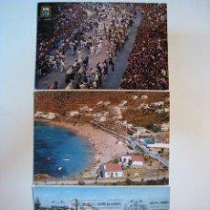 Postales: LOTE 3 POSTALES COLOR (TORREMOLINOS, ROSAS, PAMPLONA). Lote 8655597