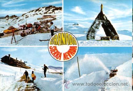 1969 POSTAL GRANADA SIERRA NEVADA (Postales - España - Andalucia Moderna (desde 1.940))