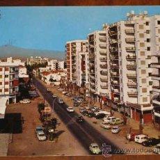Postales: ANTIGUA FOTO POSTAL DE TORRE DEL MAR (MALAGA) . - CIRCULADA. Lote 8823106