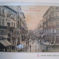 Postales - POSTAL ANTIGUA MALAGA: CALLE MARQUES DE LARIOS - 8845238