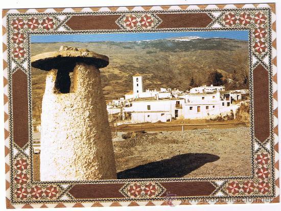 POSTAL DE LAS ALPUJARRAS, GRANADA. PAMPANEIRA. (Postales - España - Andalucia Moderna (desde 1.940))