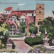Postales: SEVILLA.Nº 21 JARDINES DEL MURILLO.EDITOR MANUEL BARREIRO.. Lote 27010685