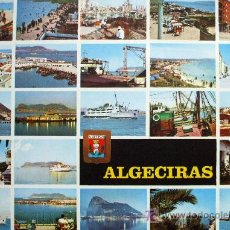 Postales: ALGECIRAS: CÁDIZ. DIVERSOS ASPECTOS. A. SUBIRATS CASANOVAS Nº 64. CIRCULADA. AÑOS 70. Lote 9288562