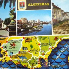 Postales: ALGECIRAS: CÁDIZ. VARIOS ASPECTOS. A. SUBIRATS CASANOVAS Nº 35. Lote 9295839