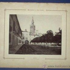 Postales: MONUMENTOS DEL ARTE ESPAÑOL. SEVILLA. PLAZA DE ARMAS. 1917.. Lote 27488156