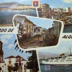 Postales: ALGECIRAS: CÁDIZ. VARIOS ASPECTOS. A. SUBIRATS CASANOVAS Nº 13. Lote 9510966
