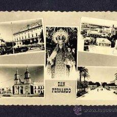 Postales: POSTAL DE SAN FERNANDO (CADIZ): 5 VISTAS (ED.LA VOZ). Lote 9525045