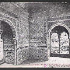 Postales: LA ALHAMBRA. INTERIOR DE LA TORRE DE LA CAUTIVA.. Lote 9533637