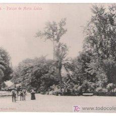Postales: SEVILLA. PARQUE DE MARÍA LUISA. STENGEL & CO. 1904. RARA. Lote 17372599