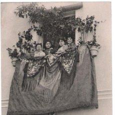 Postales: SEVILLA. (TRIANA). CONCURSO DE BALCONES.STENGEL & CO.,ANTERIOR A 1906. ¡IMPECABLE!. Lote 9601877