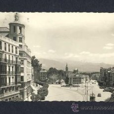 Postales: POSTAL DE GRANADA: PUERTA REAL (ED.G.GARRABELLA NUM.160). Lote 9604650