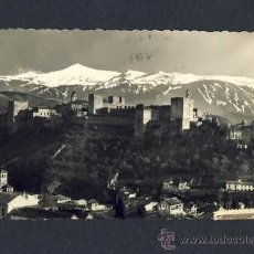 Postales: POSTAL DE GRANADA: ALHAMBRA, VISTA GENERAL. Lote 9606372