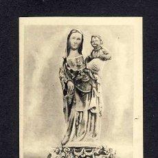 Postales: POSTAL DE HUELVA: IMAGEN DE SANTA MARIA DE LA RABIDA, ACTUALMENTE EN LA CIUDAD DE PALOS. Lote 99068184