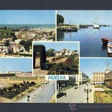 Postales: POSTAL DE HUELVA: 5 VISTAS (ED.ARRIBAS NUM.2020). Lote 9636934