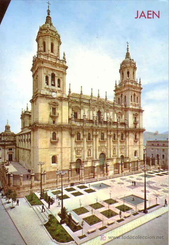 JAEN - CATEDRAL - ED. ARRIBAS 1975 (Postales - España - Andalucia Moderna (desde 1.940))
