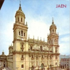 Postales: JAEN - CATEDRAL - ED. ARRIBAS 1975. Lote 9669932