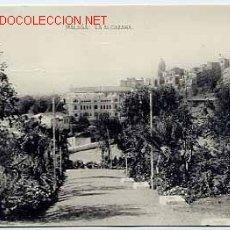 Postales: MÁLAGA. LA ALCAZABA. ED. FOTOTIPIA HAUSER Y MANET. SIN CIRCULAR. Lote 1868124
