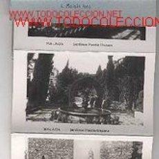 Postales: ¡¡¡ OFERTA !!! MALAGA - MINIALBUM CON 16 POSTALITAS EN B/N. Lote 26653386