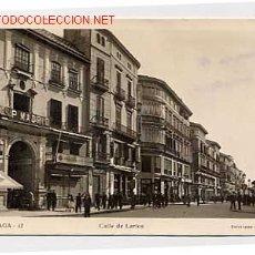 Postales: MALAGA. CALLE DE LARIOS. Lote 2384728
