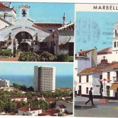 Postales: POSTAL DE MARBELLA-COSTA DEL SOL-ASPECTOS HUMANOS-CIRCULADA. Lote 2513139