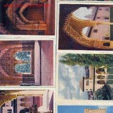 Postales: GRANADA. LA ALHAMBRA. 10 POSTALES COLOR AÑOS 60. . Lote 17294820