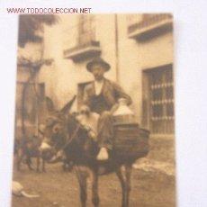 Postales: POSTAL ANTIGUA CORDOBA TIPOS Y COSTUMBRES, FOTOGRAFO SEÑAN. Lote 25985188