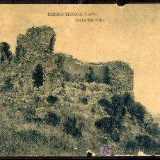 Postales: TARJETA POSTAL DE MEDINA SIDONIA, CADIZ. TORRE DE ESTRELLA. FOTOTIPIA DE HAUSER Y MENET. Lote 13025637