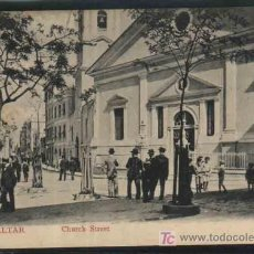 Postales: GIBRALTAR - CHURCH STREET. V.B.CUMBO. Lote 9913720