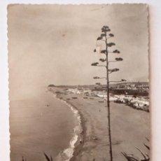 Postales: TORREMOLINOS -- PLAYA DE LA CARIHUELA. Lote 10221370