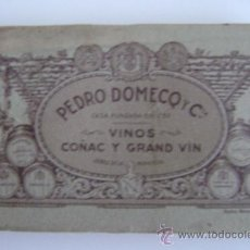 Postales: PEDRO DOMECQ Y CIA.VINOS COÑAC Y GRAND VIN .ALBUM CON 27 POSTALES(DOS DE ELLAS DOBLES)- 02060. Lote 21341192