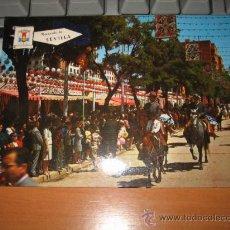 Postales: SEVILLA FERIA DE ABRIL CABALLISTAS. Lote 10524198