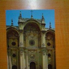 Postales: POSTAL GRANADA FACHADA PRINCIPAL DE LA CATEDRAL SIN CIRCULAR. Lote 10604067