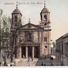 Cartoline: ALMERIA. IGLESIA DE SAN PEDRO. PURGER & CO 2451. REVERSO SIN DIVIDIR. SIN CIRCULAR. Lote 24165587