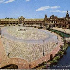 Postales: SEVILLA - PLAZA DE ESPAÑA -. Lote 10720676