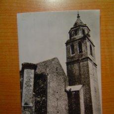 Postales: POSTAL VILLACARRILLO FACHADA PRINCIPAL PARROQUIA SIN CIRCULAR. Lote 10787276