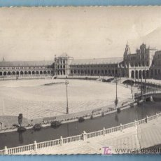 Postales: SEVILLA - PLAZA DE ESPAÑA. EDIC. GARCIA GARRABELLA Nº 74. Lote 10853549