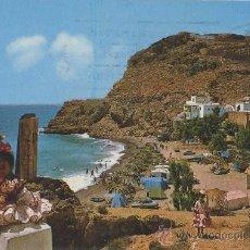 Postales: TARJETA POSTAL CAMPING LA GARROFA ALMERIA. Lote 11054818