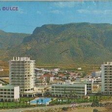 Postales: TARJETA POSTAL AGUA DULCE VISTA PARCIAL ALMERIA. Lote 29489132