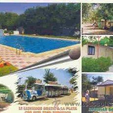 Postales: LEPE-LA ANTILLA (HUELVA) - CAMPING-CARAVANING ANTILLA. Lote 11233692