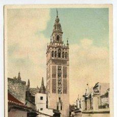 Postales: SEVILLA. LA GIRALDA. P.Z. 7136. NUEVA. REVERSO SIN DIVIDIR. Lote 24362832