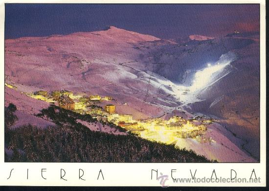 POSTAL SIERRA NEVADA. GRANADA. NUEVA. (Postales - España - Andalucia Moderna (desde 1.940))