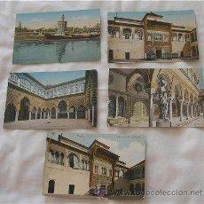 Postales: LOTE DE 5 POSTALES ANTIGUAS DE SEVILLA. Lote 21951733