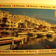 Postales: MARBELLA, COSTA DEL SOL PUERTO BANUS. Lote 11584641