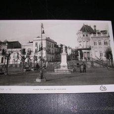 Postales: ARACENA - 13 ( HUELVA ) PLAZA DEL MARQUES DE ARACENA , FOTO ORIOL. Lote 11610914