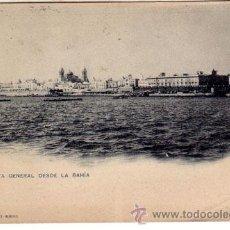 Postales: Nº 17936 POSTAL CADIZ HAUSER Y MENET SIN DIVIDIR BAHIA. Lote 26698892